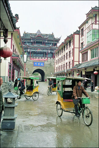 China, Sichuan - One of Songpan's gates
