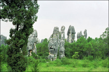 China, Yunnan - Stone Forest near Kunming