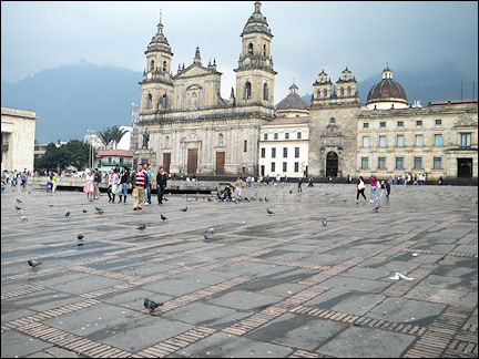 Colombia, Bogotá - Cathedral