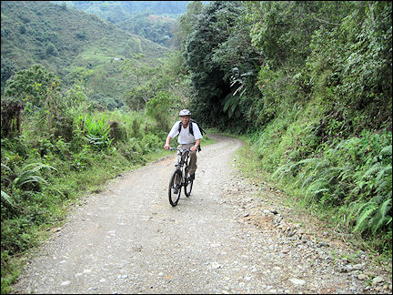 Colombia, Salento - Biking in the Andes