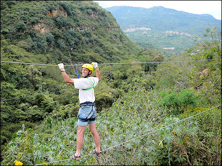 Colombia, San Gil - Center for Outdoor Sports