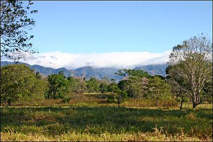 Costa Rica - View of the Central Plain