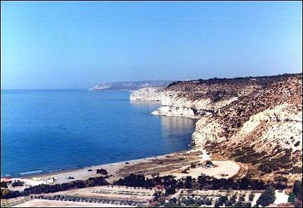 Cyprus - Coast and beach near Episkopi