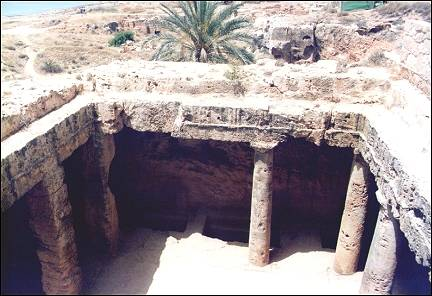 Cyprus - Pafos, Tombs of the Kings
