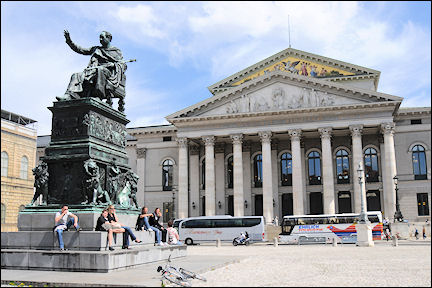 Germany, Bavaria - Munich, Max-Joseph Platz