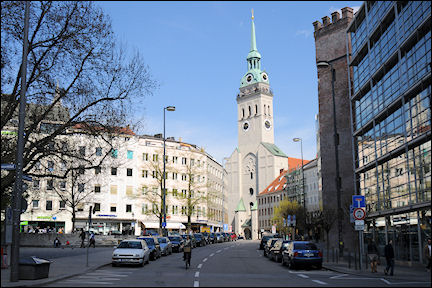 Germany, Bavaria - Munich, St. Peterskirche