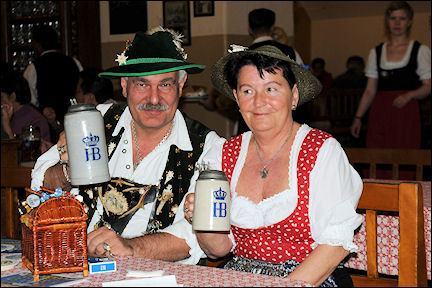 Germany, Bavaria - Munich, Bavarian traditional garb
