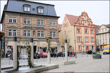 Germany, Bavaria - Ansbach, town center