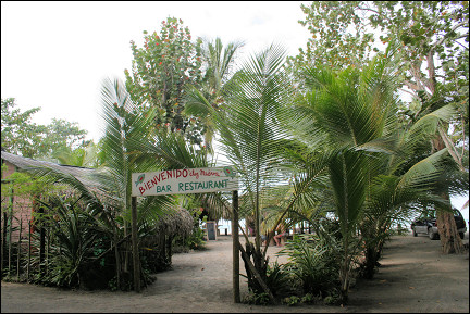 Dominican Republic - Playa Magante with restaurant