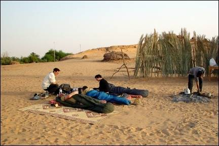 Egypt - Spending the night in the Al Kharga oasis
