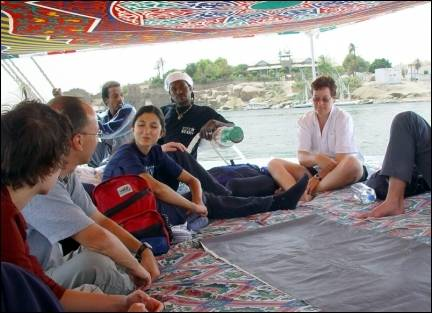 Egypt - On the felucca