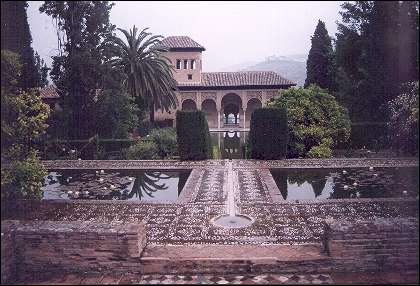 Spain, Andalusia, Granada - The Garden of the Partal