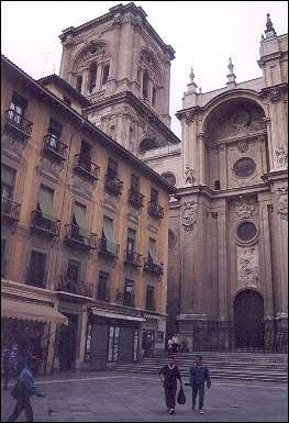 Spain, Andalusia, Granada - The Cathedral