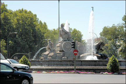 Spain, Madrid - Plaza de la Cibeles