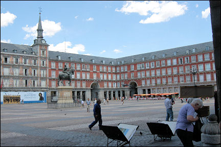Spain, Madrid - Plaza Mayor