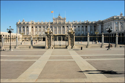 Spain, Madrid - Palacio Real
