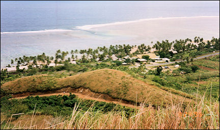 Fiji - Overlooking the Coral Coast