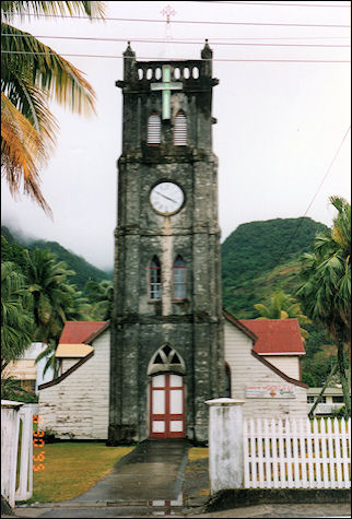 Fiji - Church in Levuka