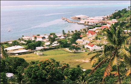 Fiji - Above the town of Levuka