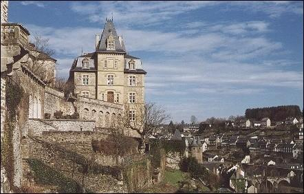 France, Lot - Uzerche, near de old city walls
