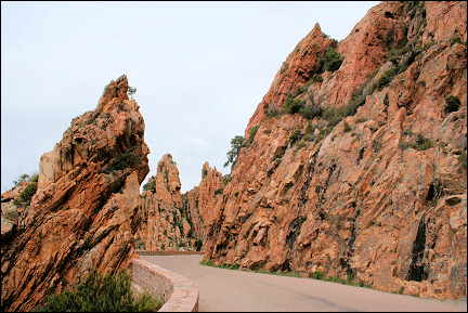France, Corsica - The calanches of Piana