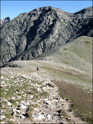 France, Corsica - Route over the ridge