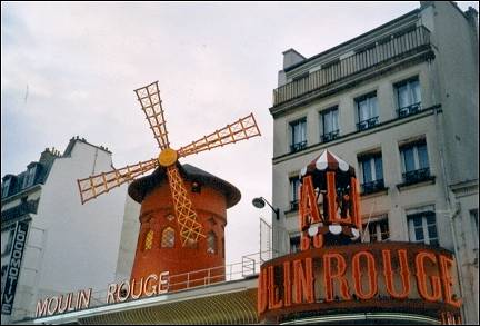 France, Paris - Moulin Rouge