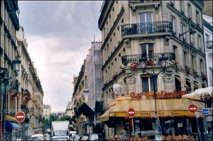 France, Paris - A brasserie on every street corner