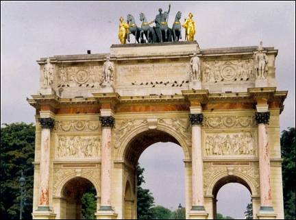 France, Paris - Arc de Triomphe du Caroussel