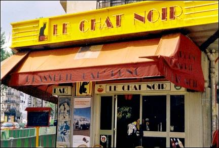 France, Paris - Cafe Le Chat Noir