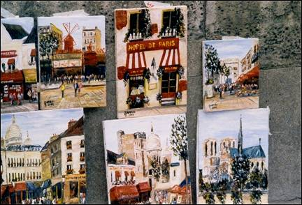 France, Paris - Paintings for sale