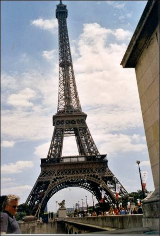 France, Paris - Eiffel Tower