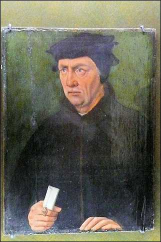 France, Normandy - Portrait of Thomas More, Municipal Museum Bayeux