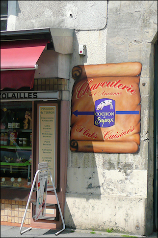 France, Normandy - Butcher shop
