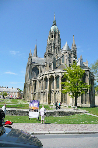 France, Normandy - Bayeux cathedral