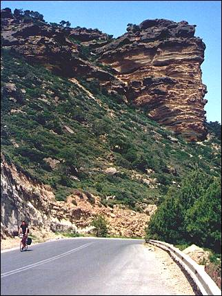 Greece, Crete - Impressive rock formations