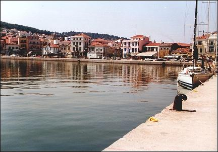 Greece, Lesbos - Port Mitilini
