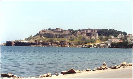 Greece, Lesbos - Castle ruin, Mitilini