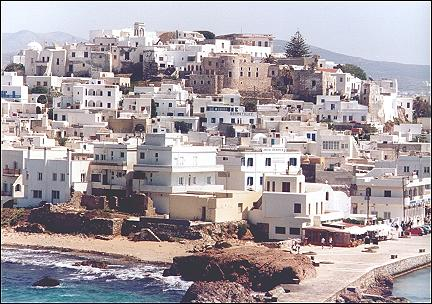 Greece, Cyclades - Greece, Cycladen, Naxos - Naxos-City