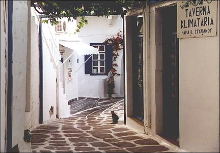 Greece, Cyclades - Mykonos-City