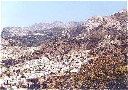 Greece, Cyclades, Naxos - View of Filotio
