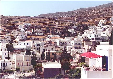 Greece, Cyclades, Paros - Lefkes