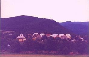 Hungary, Bükk Mountains - Night falls