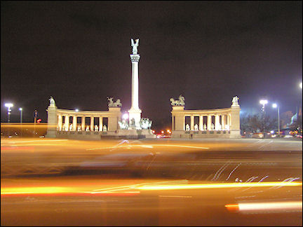 Hungary, Budapest - Heroes' Square