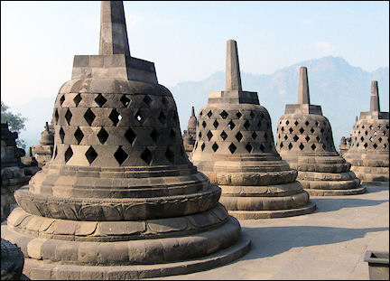 Indonesia, Java - Borobudur
