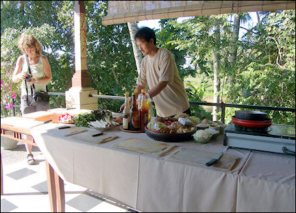 Indonesia, Bali - Ubud, workshop Balinese cooking