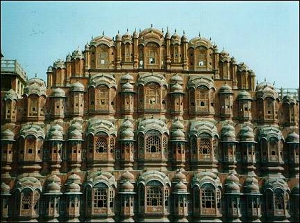 India - Jaipur, Palace of the Winds