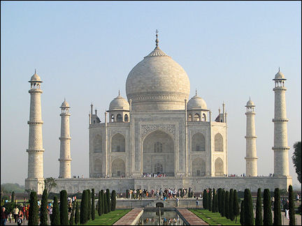 India, Agra - Taj Mahal