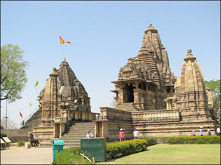 India, Khajuraho - Chandela temples