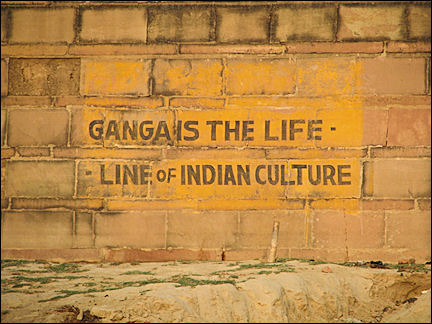 India, Varanasi - The Ganges is the life line of the Indian culture